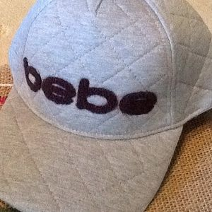 NWT bebe Embroidered Logo Hat.